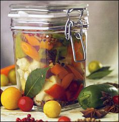 Brazilian Pickled Vegetables Recipe - from the book Burger Bar: Build Your Own Ultimate Burgers by Hubert Keller with Penelope Wisner