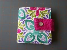 Layer Cake Wallet -- quick gift from scraps!
