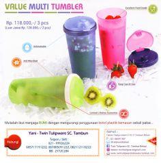 Value Multi Tumbler Tulipware - Edisi Baru 2014