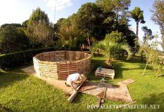 Vidéo de la façon de construire une piscine avec des palettes 2