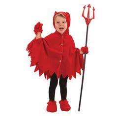 Déguisement diable enfant - Cape diable - 12.60€