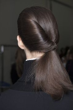 Soon to be the modern classic. Eugene Souleiman for Ports 1961 AW13 #mfw #hair