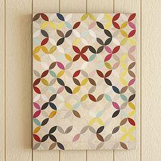 DIY paint chip wall art, Lord knows I have enough paint chips! Art Diy, Diy Wall Art, Paint Chip Wall, Paint Chips, Art Encadrée, Motifs Textiles, Illustration, Art Graphique, Pretty Patterns