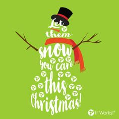Whether you wrap them up in that or a giant bear hug, make sure you let your loved 💚 ones SNOW ☃ you care about them this Christmas! It Works Body Wraps, It Works Distributor, Crazy Wrap Thing, Feel Good, Hug, First Love, How To Look Better, Let It Be, Feelings
