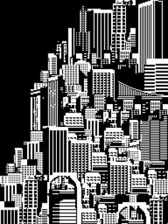 All sizes | Metropolis Cityscape | Flickr Photo Sharing! in Illustration