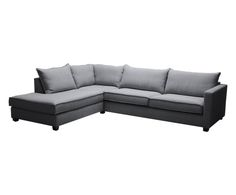 Hoekbank met chaise longue links Havana