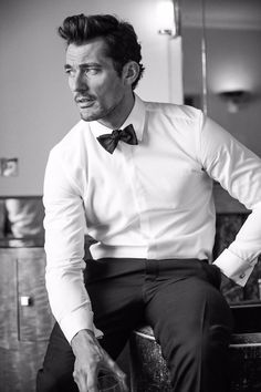 New #DavidGandy for @BritishGQ by @arnaldoanaya  via David's Tumblr