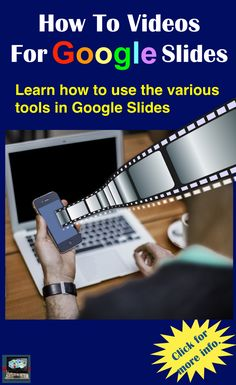 Learn how to use the various tools in Google Slides