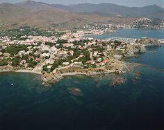 Vista aérea de Les Carboneres (Llançà)