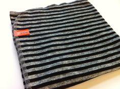 Swaddling Blanket- Striped Blanket- Infant- Baby- Unisex- Knit- Recieving Blanket- Lil Cleo on Etsy, $18.00
