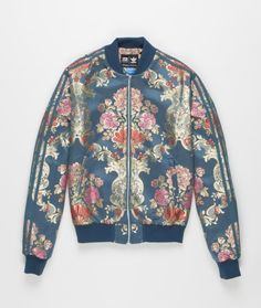 Topshop Womens **Embroidered Dinosaur Jacket by The White Pepper ...