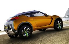 We will see brand-new Nissan Juke 2017 in middle of We cannot even guess or forecast because lots of new functions will be set up in 2017 Nissan Juke Nissan March, New Nissan, Nissan Juke, Juke Car, Small Sports Cars, Ford, Gasoline Engine, Sports Sedan, Unique Cars