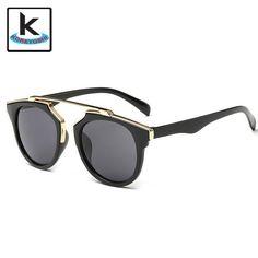 Barato Nova moda gato olho óculos De Sol mulheres marca Designer… Óculos De Sol  Feminino dcafbcf1fb