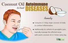 coconut oil for autoimmune diseases