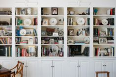 Ted Harrington's bookcase. By Brian Ferry.