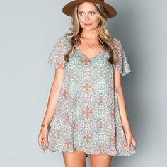 Show Me Your Mumu Mini Dress Super cute and fun dress! Super comfy and flowy. Show Me Your MuMu Dresses Mini