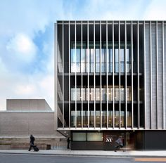 London studio Haworth Tompkins has completed its £80 million refurbishment of Brutalist icon the National Theatre.