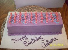 Loom Band Cake -By Jayme Sue's Cakes this is my mom's friend she makes amazing cakes I'm trying to spread her around