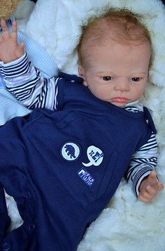 Mummelbaerchens Bruno, so cute Reborn Baby Boy, Sold Out by Karola Wegerich