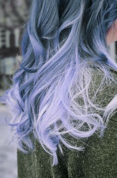 grey purple hair ombre - Google Search