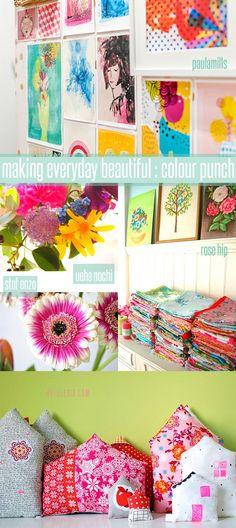 gorgeous makes in gorgeous colours