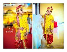 Saved by radha reddy garisa Baby Boy Dress, Baby Boy Outfits, Kids Outfits, Baby Dresses, Indian Men Fashion, Boy Fashion, Indian Groom Wear, Indian Wear, Kids Kurta