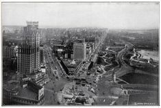 Then: Columbus Circle (1924) | Then Vs. Now: 1920s New York City
