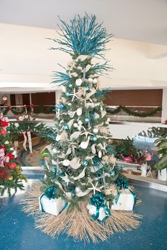 southern flair designs christmas tree at childrens hospital of alabama