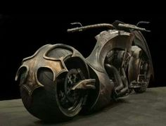 Custom motorcycle,  but inspired by the blackened death metal band,  BEHEMOTH