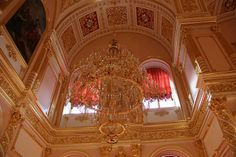 If You Lived Like A Russian Tsar - Kremlin Interior 1 - The Great Kremlin Palace was built from 1837 to 1849 in Moscow, Russia. It was intended to emphasize the greatness of Russian autocracy.  The Palace was formerly the tsar's Moscow residence. Its construction involved the demolition of the previous Baroque palace on the site, designed by Rastrelli