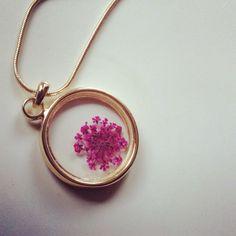 Dryflower necklace