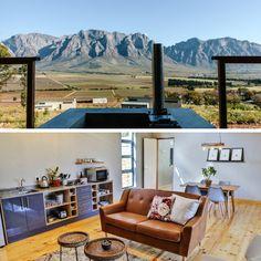 By Opstal Stay, 'n wynplaas slegs 1 uur se ry van Kaapstad af, word jy bederf met prentjiemooi uitsigte, heerlike wyn en lekker luuksheid! Mountain S, Van, Nature, Vans, Naturaleza, Scenery