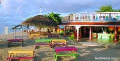 Bourbon Beach for Jerk Chicken!  Negril, Jamaica