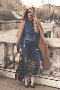 A fall / winter essential. Here are 30 of the cutest street style outfits out there that prove you absolutely need a camel coat this season.