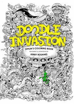 Zifflin Coloring Books