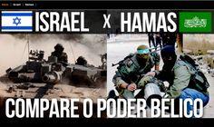 Israel X Hamas: compare o poder bélico – Fábio Condutta