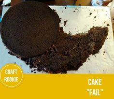 Craft Rookie: Fail.