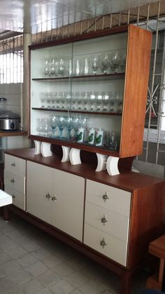 Narra Sideboard with Hutch