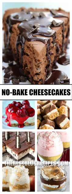 The Best No Bake Cheesecakes