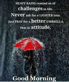 Visit the post for more. Rainy Morning Quotes, Good Morning Rainy Day, Love Good Morning Quotes, Morning Quotes For Friends, Morning Quotes Images, Morning Greetings Quotes, Good Morning Images, Rainy Days, Rainy Weather Quotes