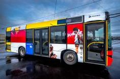 Creative Street Art Buses in Norway Street Art, Norway, Illustration, Creative, Exhibitions, Buses, Projects, Kids, Art