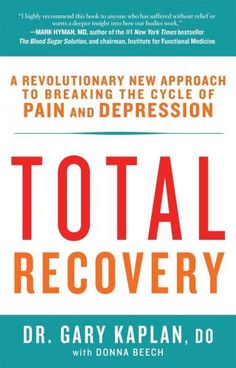 Why can't I get better? Did my doctors miss something? How can I recover? According to Dr. Gary Kaplan, conventional thinking about the nature of chronic pain and depression is essentially flawed. Alt