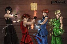 Ninjago - You are Invited by BubblesRRJ.deviantart.com on @DeviantArt