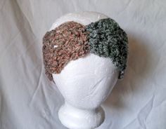 Hey, I found this really awesome Etsy listing at https://www.etsy.com/listing/257329356/womens-headband-green-brown-hair-tie