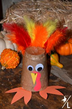 kids turkey craft