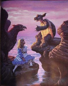 Alice's Illustrated Adventures In Wonderland The Mock Turtle's Story