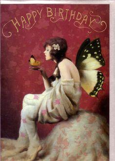 Fairy Birthday Cards by Stephen Mackey Fairies Set of 3 Gypsy ...