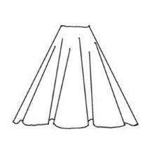 Circle skirt tutorial - Diary of a Renaissance Seamstress.