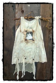 Altered baby dress.