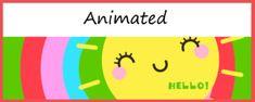 Animated Google Classroom Header (Hello Sunshine!) - Distance Learning School Pack, Easel Activities, Online Classroom, Free Education, Hello Sunshine, Google Classroom, Educational Technology, Teacher Newsletter, Headers